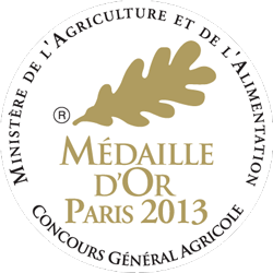 Médaille d'Or Paris 2013