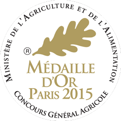 Médaille d'Or Paris 2015